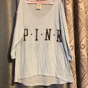 PINK 3/4 sleeve excellent condition